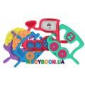 Игрушка-погремушка Chicco  Паровозик (1,2,3) 07681.00