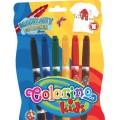 Маркеры для ткани (6 цветов) Colorino Kids 15653PTR