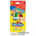 Фломастеры Junior Colorino 34593PTR, 6 цветов