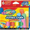 Мелки цветные Jumbo Colorino 65818PTR, 6 цветов
