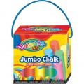 Мелки цветные Jumbo Colorino 65825PTR, 15 цветов
