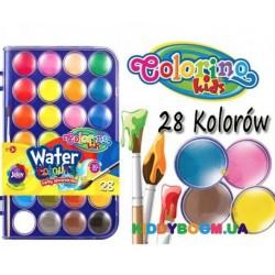 Краски Акварель big 28 цветов Colorino 67317PTR