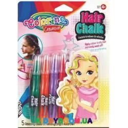 Краски для волос 5 цветов микс Colorino 68659PTR