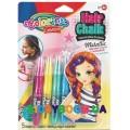Краски для волос 5 цветов микс Metallic Colorino 68680PTR