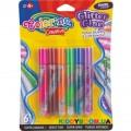 Клей с блестками Colorino 68857PTR, 6 цветов