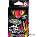 Мелки неоновые Colorino 92050PTR, 6 цветов
