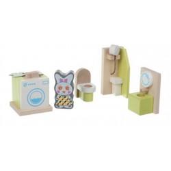 Деревянный игрушечный набор Мебель 1 Cubika 12633