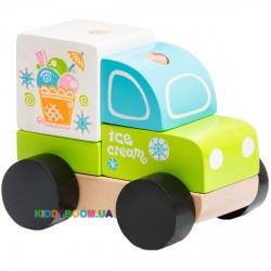 Деревянная машинка Экспресс-мороженое LM-8 Cubika 13173