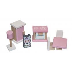Деревянный игрушечный набор Мебель 3 Cubika 13975
