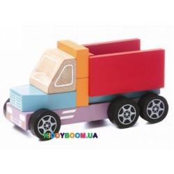 Деревянная игрушка машинка Самосвал  Cubika 14026