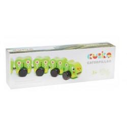Деревянная игрушка Гусеница Cubika 15405