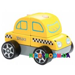 Деревянная Машинка Тахі Cubika LM-6