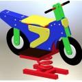 Качели-качалка на пружине Мотоцикл 320/пр