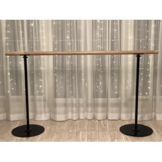 Переносной деревянный балетный станок 110 см (нерегулируемый по высоте) 003