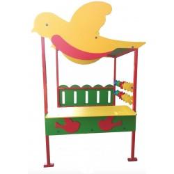 Игровой домик для детской площадки Птичка 823/д