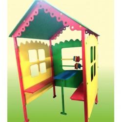 Игровой домик Кроха со счетами и столиком 818/д