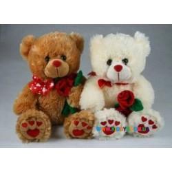 Медвежонок с розой Devik Toys 026442
