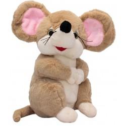 Мягкая игрушка Удивленная мышка, 22 см Devik toys 164611/2