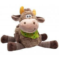 Мягкая игрушка Бычок с платочком 22 см, бежевый Devik toys 394301