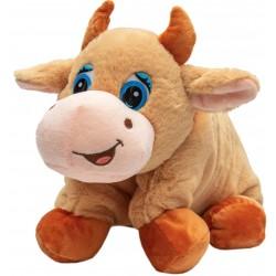 Мягкая игрушка- подушка Коровка 46 х 40 см, бежевая Devik toys 394769