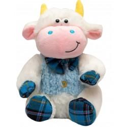 Мягкая игрушка Бычок в голубом жилете, 20 см Devik toys 395087