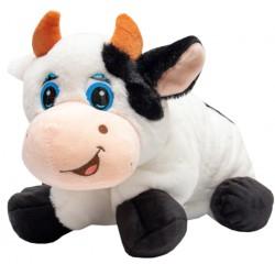 Мягкая игрушка-подушка Коровка 46 х 40 см, черно-белая Devik toys 395100