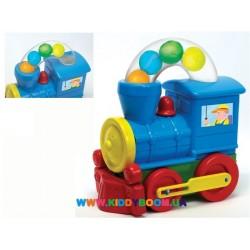 """Развивающая игрушка """"Паровозик с шариками"""" Devik Play 5888"""