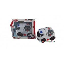 Машина Скорая помощь Devik toys A849569Q-W