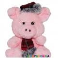 Мягкая игрушка Devik toys Поросенок в шапке и шарфике  20 см 2 в ассортименте C1713620M