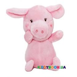 Мягкая игрушка Devik toys Поросенок розовый 12 см D1725712A