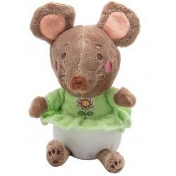 Мягкая игрушка Мышка в платье, 14 см Devik toys D1826214