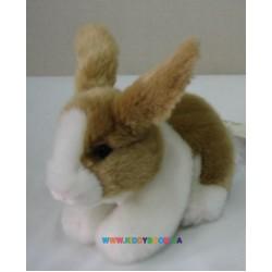 Кролик коричневый лежачий Devik toys JO-413BR