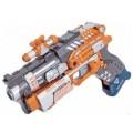 Игровой набор RoboGun 2-в-1 пистолет-трансформер SLIDER (+6 мягких стрел) Devik toys K03