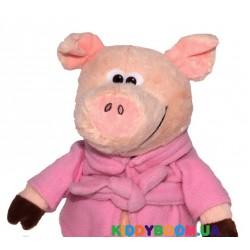 Мягкая игрушка Devik toys Поросенок в халате  24 см 2 в ассортименте  M1717424B