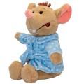 Мягкая игрушка Мышка в халате, 24 см Devik toys M1810024D