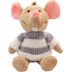 Мягкая игрушка Мышка в свитере, 29 см Devik toys M1810029B