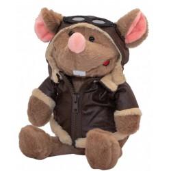 Мягкая игрушка Мышка-пилот, 23 см Devik toys M1810323
