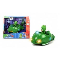 Игрушка Герои в масках Duck Toys 3142001 Скоростной автомобиль Гекко (свет, звук)