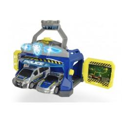 Игровой набор Duck Toys 3715010 Командный пункт полиции с машинками (свет, звук)