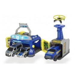Игровой набор Duck Toys 3717004 Станция SWAT с машинками и пускателем дронов