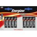 Щелочные батарейки Energizer Alkaline Power AA LR6 1.5В 8 шт. (7638900410686)