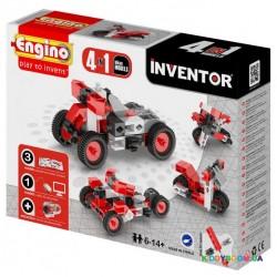 Конструктор серии Inventor 4 в 1 Мотоциклы ENGINO 0432