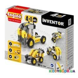 Конструктор серии Inventor 4 в 1 Строительная техника ENGINO 0434