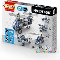 Конструктор серии Inventor 12 в 1 Самолеты ENGINO 1233