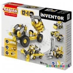 Конструктор серии Inventor 12 в 1 Строительная техника ENGINO 1234