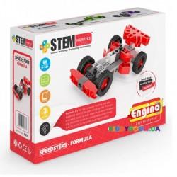 Конструктор серии Stem Heroes Спортивные автомобили Формула ENGINO SH31