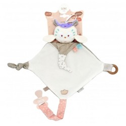 Текстильная мягкая игрушка-прорезыватель сова Мия Elfiki Г-0108
