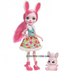 Кукла Enchantimals Кролик Бри DVH88
