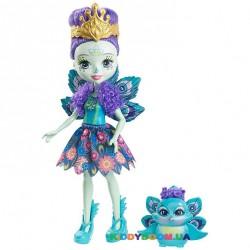 Кукла Enchantimals Пэттер Павлина DYC76