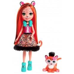 Кукла Enchantimals Тигренок Тензи FRH39